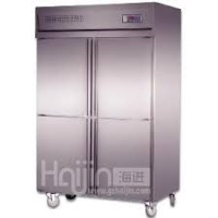 4 Doors Double-Temperature Static Cooling/Fancooling Kitchen Freezer